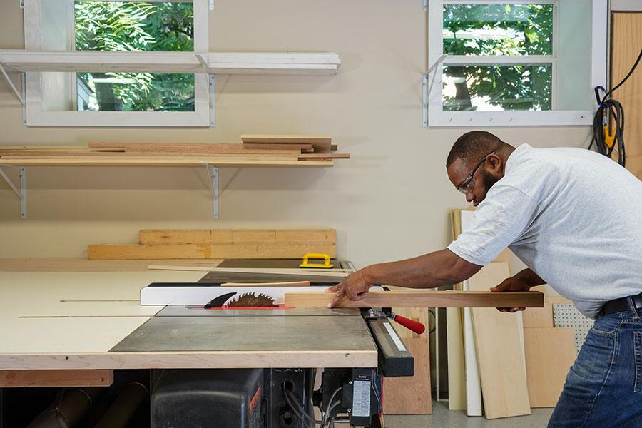 Singapore carpentry
